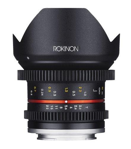 Rokinon Cine Cv12M-Fx 12Mm T2.2 Cine Lens For Fujifilm X-Mount Cameras