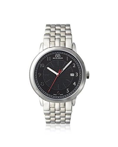 88 Rue du Rhone Men's 87WA120037 Silver/Black Stainless Steel Watch