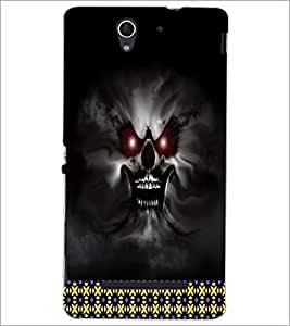 PrintDhaba Ghost D-4492 Back Case Cover for SONY XPERIA C3 (Multi-Coloured)
