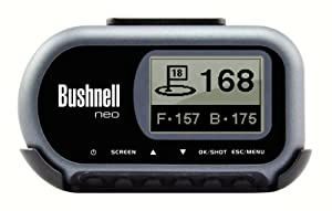Bushnell Neo Golf GPS Rangefinder with 1-Year Free iGolf Downloads