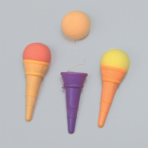 Ice Cream Shooter Toy - 5 inch, 1 Dozen, Assorted Colors - 1