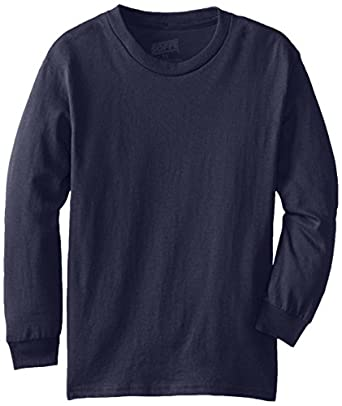 Buy MJ Soffe Boy's 8-20 Youth Pro Weight Long Sleeve Tee by Soffe