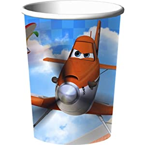 Disney Planes 9 oz Party Paper Cups 8 count by Hallmark Party Express
