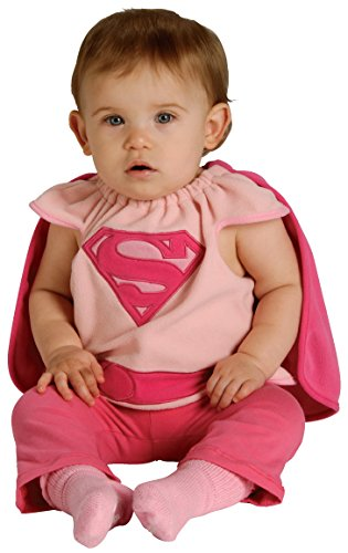 Rubie's Costume Co Baby Girl's DC Superheroes Supergirl Deluxe Bib