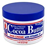 Hollywood Beauty Cocoa Butter W/ Vitamin-E 7.5oz (6 Pack) by Hollywood Beauty