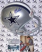 Troy Aikman Signed Dallas Cowboys Full Size Helmet