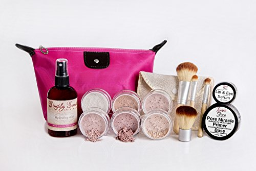 timeless-look-kit-full-size-mineral-makeup-set-matte-foundation-bare-face-sheer-powder-cover-pink-bi