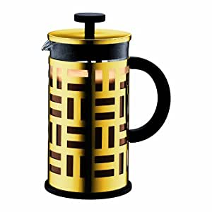 Bodum Eileen French Press Coffee Maker, 34-Ounce, Gold Chrome