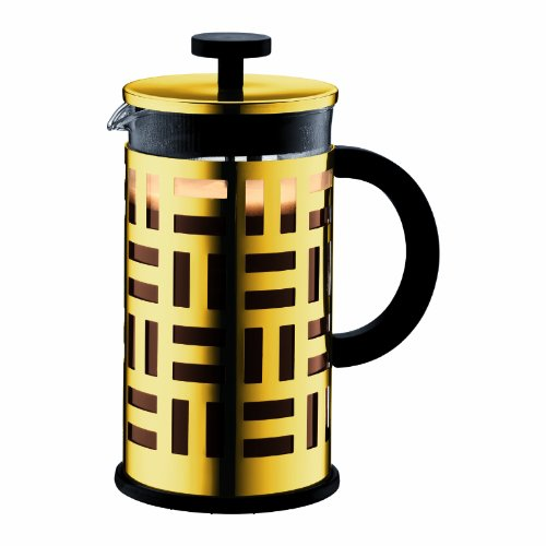 Bodum Eileen French Press Coffee Maker, 34-Ounce (Gold Chrome)