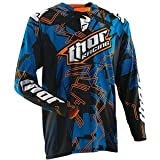 Thor Motocross 2014 Core Fragment Jersey - Blue (Medium 2910-2812)