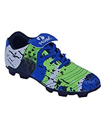 Feroc Blue Grand Rubber Football Shoes (10, Blue)