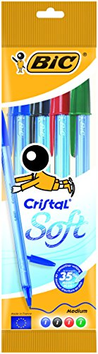bic-cristal-soft-punta-media-12-mm-confezione-4-penne-colori-assortiti