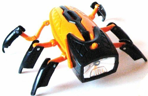 Transforming Robot Flashlight/BLACK HEAD/ORANGE BODY