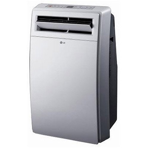 Lg Electronics 12,000-btu Portable Air Conditioner And Dehumidifier Combo, White, Lp1200dxr