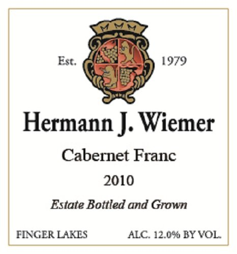 2010 Hermann J. Wiemer Vineyard - Cabernet Franc 750 Ml