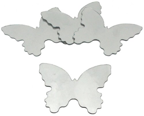 RoomMates MIR0008BTS Butterfly Peel & Stick Mirrors
