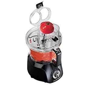 New Hamilton Beach 14 Cup Big Mouth Food Processor With Processing Bowl Powerful 500 Watt Motor
