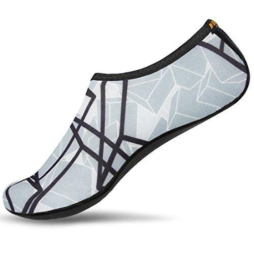NBERA-Barefoot-Flexible-Water-Skin-Shoes-Aqua-Socks-for-Beach-Swim-Surf-Yoga-Exercise