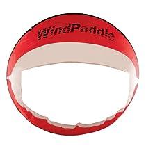 WindPaddle Cruiser Kayak/Canoe Sail (Red / White)