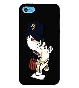 EPICCASE Dorae sports Mobile Back Case Cover For Apple iPhone 5c (Designer Case)