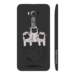 Enthopia Designer Hardshell Case Pocket Pugs Back Cover for Asus Zenfone 2 Laser ZE500KL