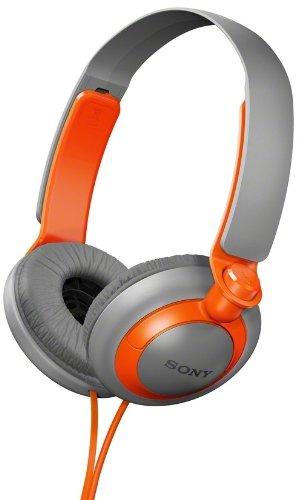 Sony Mdr-Xb200/D (Mdrxb200-Orange) Xb Extra Bass Series On-Ear Headphones