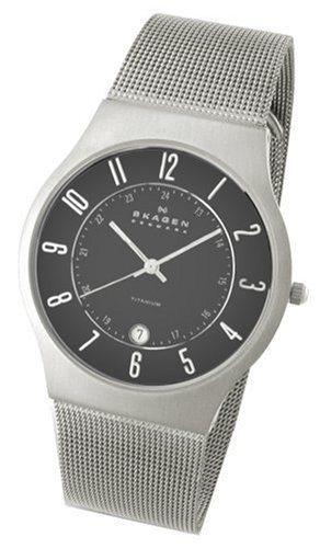 Skagen Men's 233XLSSM Slimline Mesh Watch