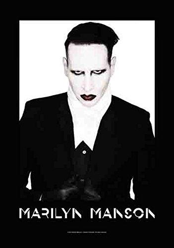 Marilyn Manson Proper Textile poster Bandiera
