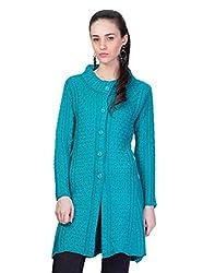 Montrex Sky Designer Long Coat For Women