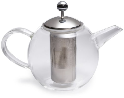 BonJour 34-Oz. Glass Teapot with Flavor-Lock Infuser