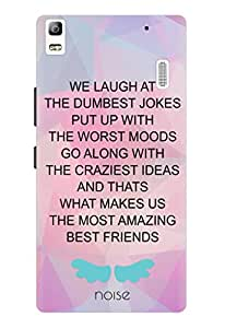 Noise Girl Friends Printed Cover for Lenovo A7000