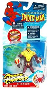 Spectacular Spider-Man Animated Action Figure Shocker (Spider Charged!)