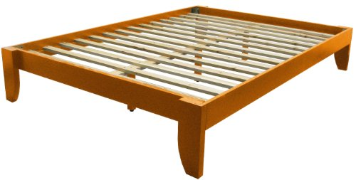 Deals epic furnishings twin copenhagen all wood platform for Bed frame deals