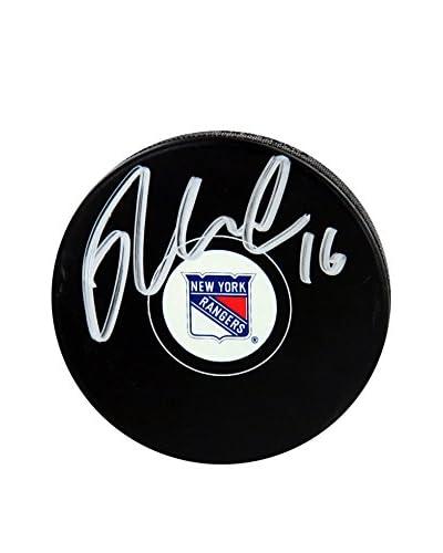 Steiner Sports Memorabilia New York Rangers Derick Brassard Signed Hockey Puck As You See