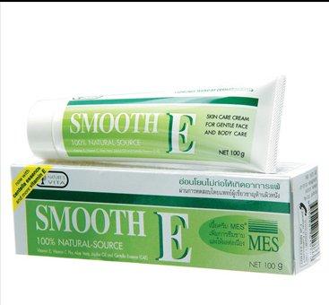 Smooth E Cream Anti Aging Wrinkles Vitamin E Aloe Vera Scars 100G