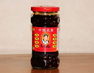 Lao Gan Ma Black Bean Chilli Sauce from LKM