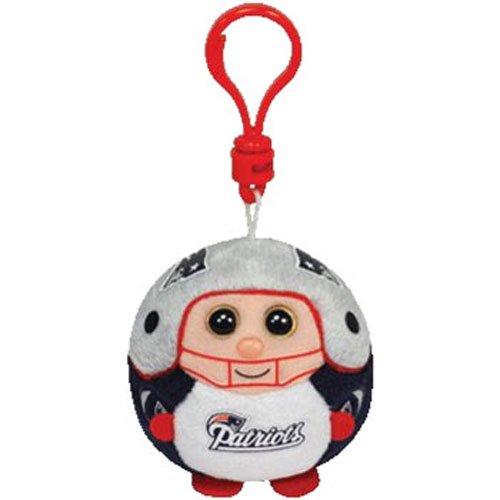 Ty Beanie Ballz New England Patriots - Clip