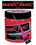 Manic Panic Hair Dye - Vegan Hair Dye - Wildfire & Tint Brush