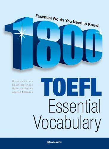 1800 TOEFL ESSENTIAL VOCABULARY (English Edition)