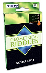 Mind Trap Novice Level Geometrical Riddles Card Game