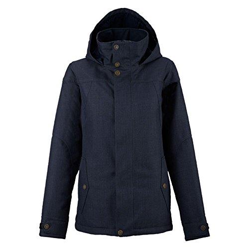 Burton da donna Jet Set Jacket giacca da snowboard, Donna, Snowboardjacke JET SET JACKET, blu (Mood Indigo), S