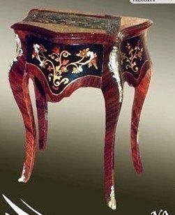 Cassettiera barocco piccola Antico mokm0361di stile Louis XV