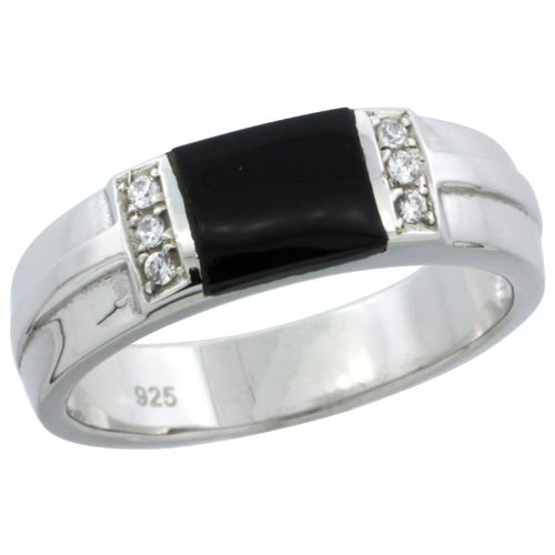 Mens Wedding Rings Mens Wedding Rings Black Onyx