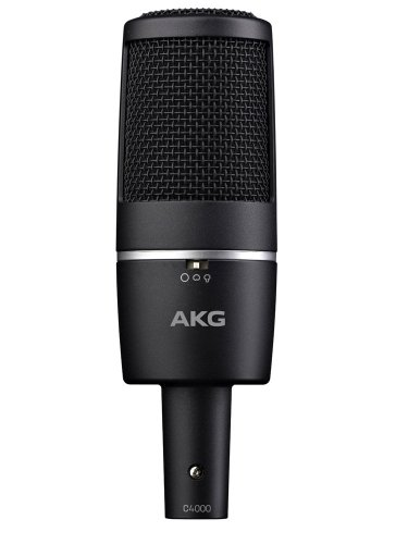 Akg Pro Audio C4000 Condenser Microphone, Multipattern