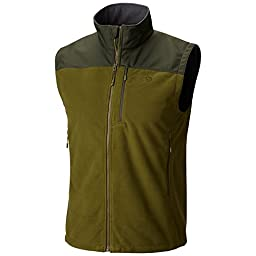 Mountain Hardwear Peak Tech Vest - Men\'s Utility Green / Greenscape XL