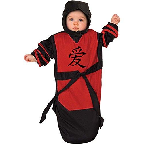 Ninja Baby Bunting Costume - Newborn - 1
