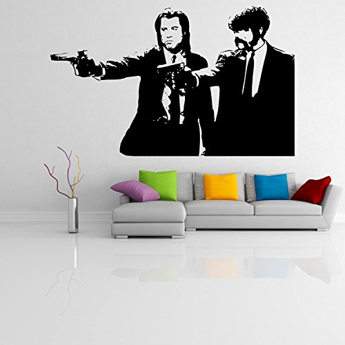 Vincent and Jules Pulp Fiction - Adesivo da parete Vinyl Wall Stickers Decals
