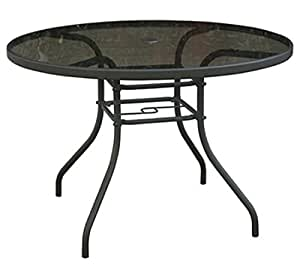 Amazon Com Courtyard Creations Verona Round Table 42