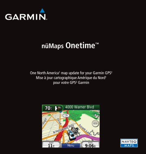 Garmin nüMaps Onetime City Navigator North America NT Map Update