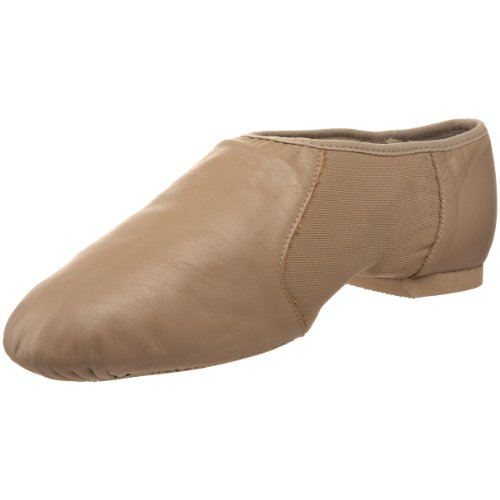 Bloch Women's Neo Flex Slip On Jazz Shoe,Taupe,4 M US